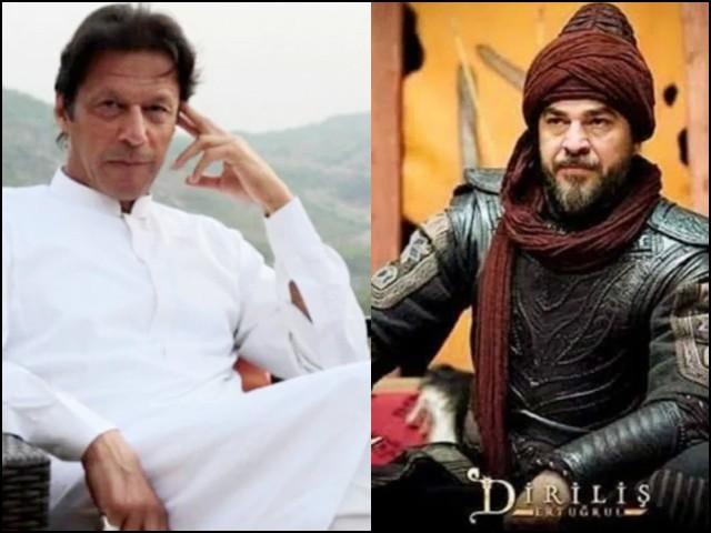 عمران خان اور ارطغرل میں گہری مماثلت ہے۔ (فوٹو: فائل)