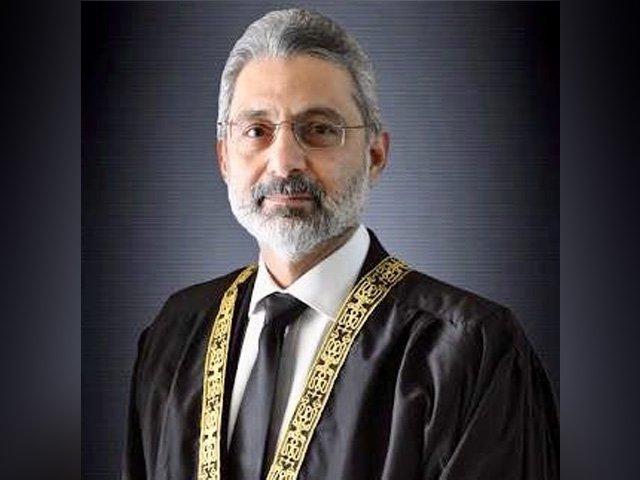 آغا افتخار الدین مرزا کو 6 ماہ کیلئے جیل بھیج دیتے ہیں، چیف جسٹس