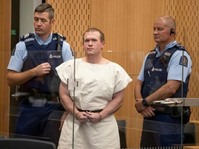 آسٹریلوی دہشت گرد برینٹن ٹارنٹ نے دو مساجد پر حملہ کرکے 51 نمازیوں کو شہید اور 40 کو زخمی کردیا تھا، فوٹو : فائل