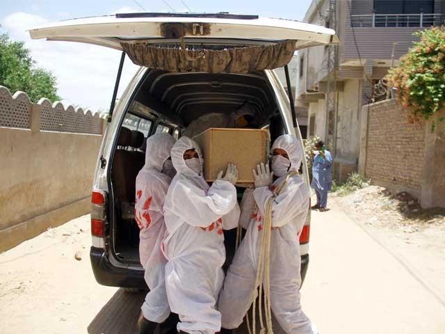 سندھ میں کورونا کے مریضوں کی تعداد ایک لاکھ سے زائد ہوگئی