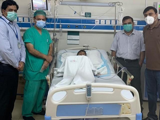 لڑکے کا دل پھٹ گیا تھا، ہم نے پوری مہارت سے سرجری کی اور بچے کی جان بچائی، ڈاکٹرز