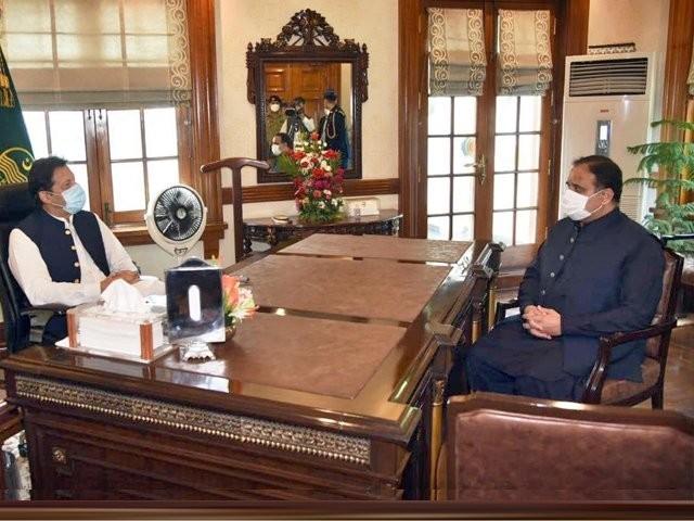 پنجاب میں ''اہم تبدیلی'' کیلئے مشاورت کا عمل دورہ لاہور سے قبل شروع ہوا تھا اور دورہ لاہور کے بعد بھی جاری ہے۔ (فوٹو، آن لائن)