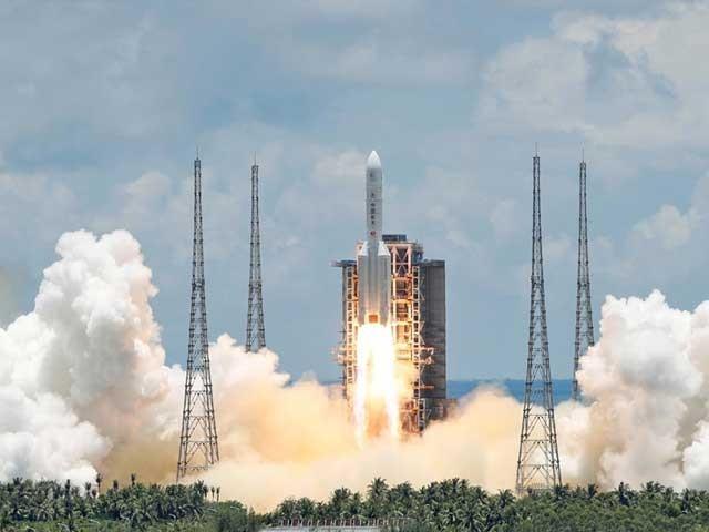 چین کا پہلا تحقیقاتی مشن 'تیان وین ون' ممکنہ طور پر اگلے سال فروری میں مریخ میں داخل ہوگا - فوٹو: رائٹرز