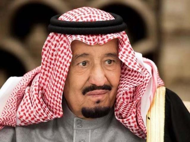 شاہ سلمان بن عبدالعزیز کے پتے کو آپریشن کے بعد نکال دیا گیا، فوٹو : فائل