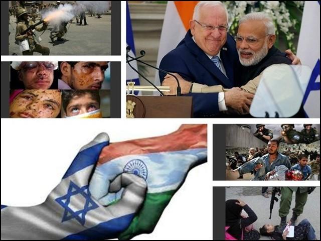 قابض اسرائیل کی طرح بھارت بھی نو آبادیاتی نظام کے تحت کشمیریوں کی نسل کشی کررہا ہے۔ (فوٹو: فائل)