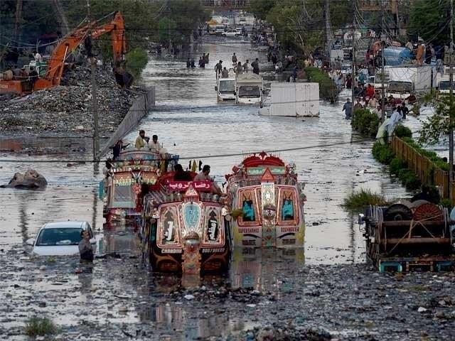 کچرے کی وجہ سے برسات میں کراچی ڈوب گیا، جسٹس خادم حسین شیخ