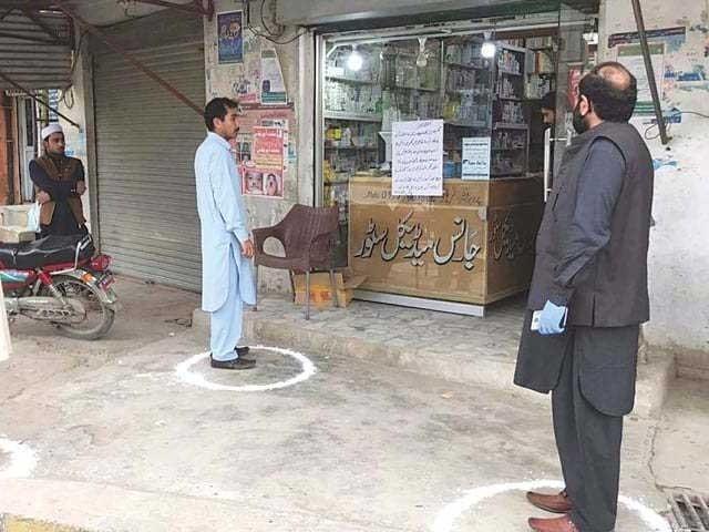 بلوچستان میں کورونا کے مصدقہ مریضوں کی تعداد 11774 ہے فوٹو: فائل