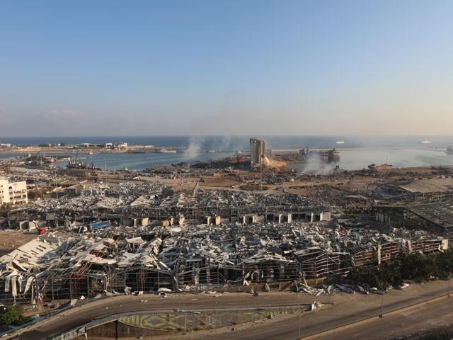 عالمی خبر رساں ادارے کے مطابق ہولناک دھماکے کے نتیجے میں مزید ہلاکتیں سامنے آںے کا خدشہ ہے.(فوٹو:رائٹرز)