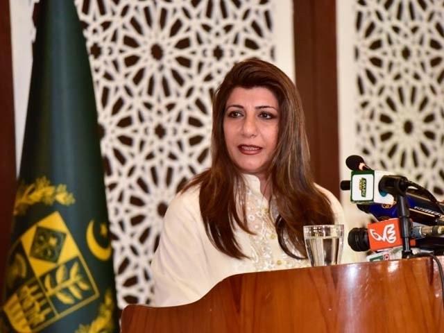 پاکستان اپنے سیاسی نقشے کے اجراء پر بھارت کے بیان کو مسترد کرتا ہے، ترجمان۔ فوٹو : فائل
