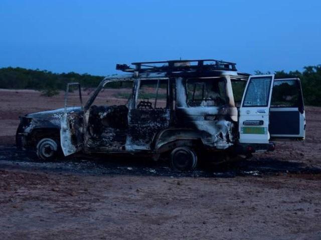 حملے میں مقامی گائیڈ اور ڈرائیور بھی ہلاک ہوئے، فوٹو : اے ایف پی