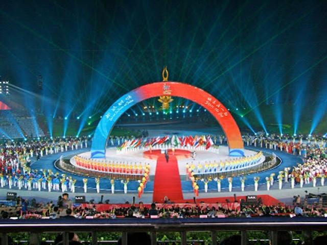 ایشین بیچ گیمز چین کے شہر سنیا میں منعقد ہوں گے۔ فوٹو: فائل