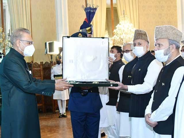 سيد علی گيلانی کو پاکستان کا سب سے بڑا اعزاز آزادی کیلیے بےمثال جدوجہد کے باعث ديا گيا