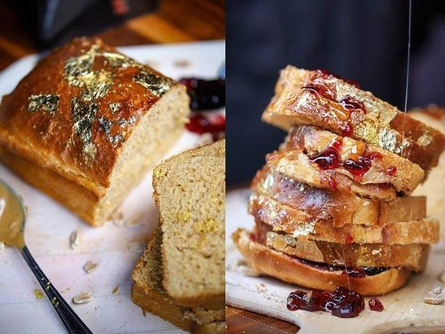 تصویر میں دنیا کا سب سے مہنگا میٹھا سینڈوچ نظر آرہا ہے جس کی قیمت 350 ڈالر یا 58 ہزار روپے ہے۔ فوٹو: فاکس نیوز