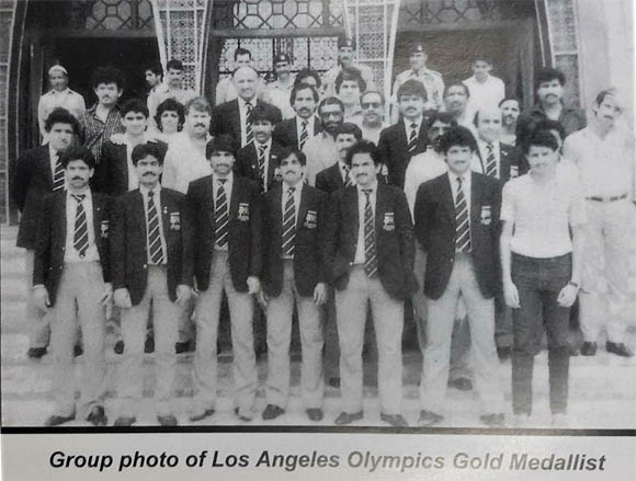 Pakistan Hockey Los angles olympic 1984 10