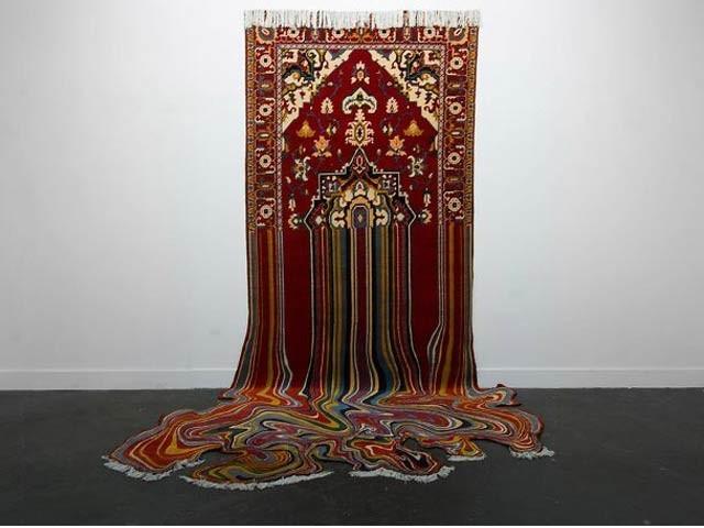 آذربائیجان کے محمد فائق نے قالین بافی کو ایک نئی درجے کی تخلیق میں تبدیل کردیا ہے۔ فوٹو: بورڈ پانڈا