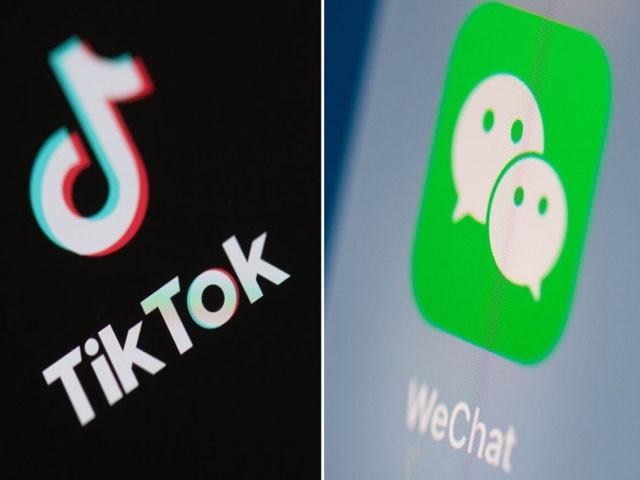 ٹک ٹاک پر پابندی کا اطلاق 20 ستمبر اور وی چیٹ پر 12 نومبر سے ہوگا، فوٹو : فائل