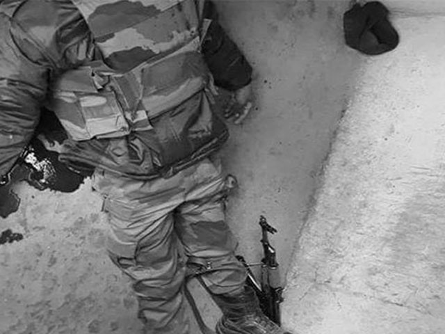 حوالدار ہرویندر سنگھ نے گولی مار کر خودکشی کرلی، فوٹو : فائل