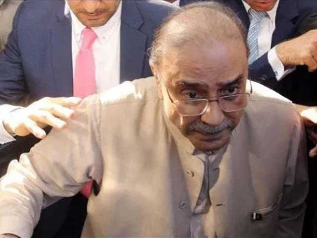 اسلام آباد ہائیکورٹ نے آصف علی زرداری کی درخواست ضمانت سماعت کے لیے مقرر کردی ہے۔۔ فوٹو:فائل