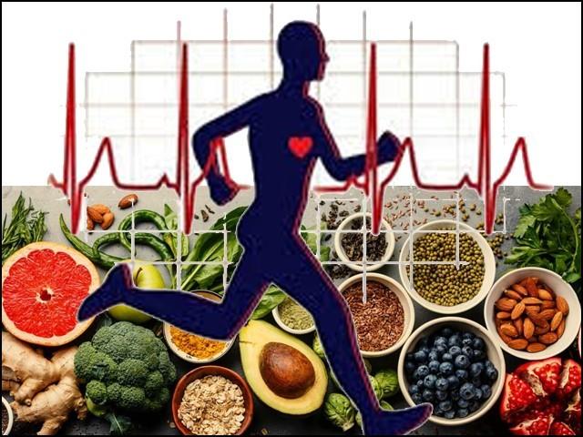 متوازن غذا اور ورزش سے انسانی صحت پر مثبت اثرات مرتب ہوتے ہیں۔ (فوٹو: فائل)