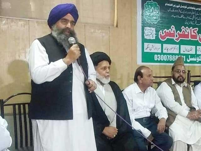 پاکستان میں مسلمانوں کی اکثریت کی وجہ سے غیر مسلموں کے حقوق کا تحفظ مسلمانوں کی ذمہ داری ہے، مذہبی قائدین فوٹو: ایکسپریس