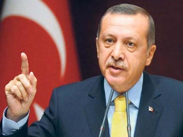 ترک صدر نے کہا ہے کہ دنیا سفاکی کا نشانہ بننے والے آذر بائیجان کا ساتھ دے(فوٹو، فائل)