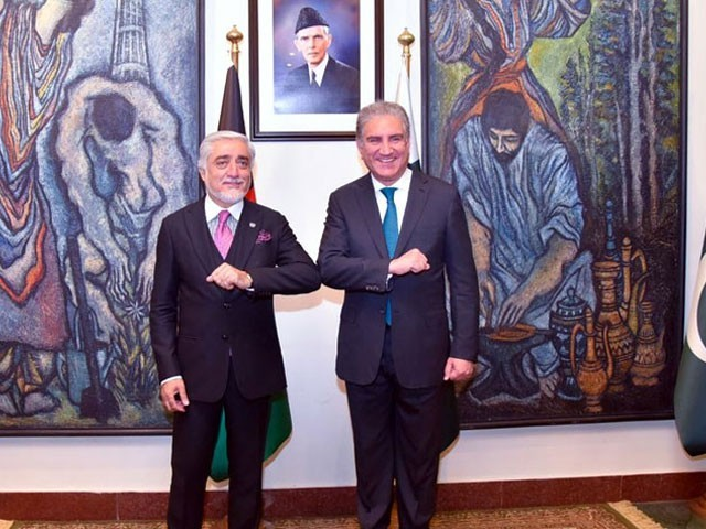 افغانستان کی اعلیٰ سطح کی  مفاہمتی کونسل کے چیئرمین ڈاکٹر عبداللہ عبداللہ آج پاکستان کے تین روزہ دورے پر پہنچے ہیں(فوٹو، ریڈیو پاکستان)