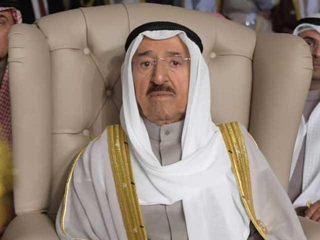 کویتی امیر شیخ صباح الاحمد الصباح کی طبیعت کچھ عرصے سے ناساز تھی- فوٹو: اے ایف پی