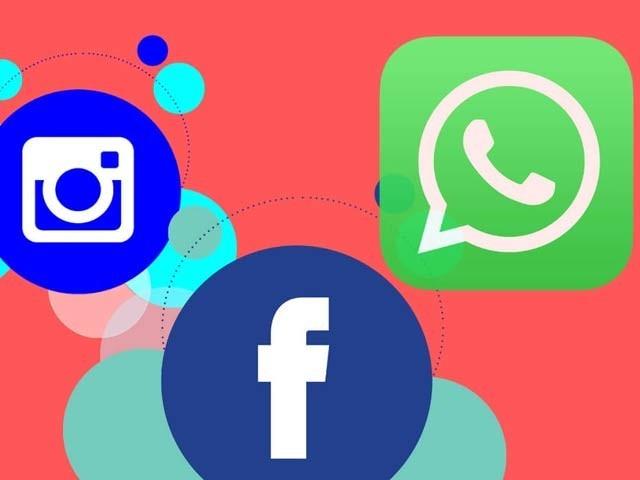 فیس بک نے انسٹاگرام، واٹس ایپ اور میسنجر کے درمیان روابط پر نئی پیش رفت کی ہے۔ فوٹو: فائل