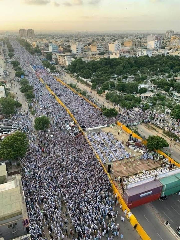 Anti shia protest 3
