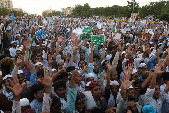 Anti shia protest 5