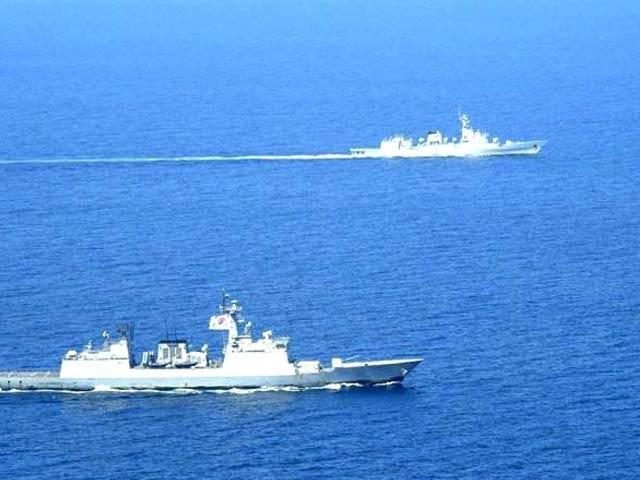 دونوں ممالک کے بحری جہاز خلیج عدن میں موجود ہیں (فوٹو ، ریلیز)