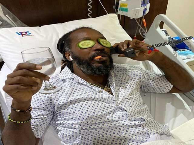 معدے میں انفیکشن کی وجہ سے گیل دبئی کے اسپتال میں زیر علاج