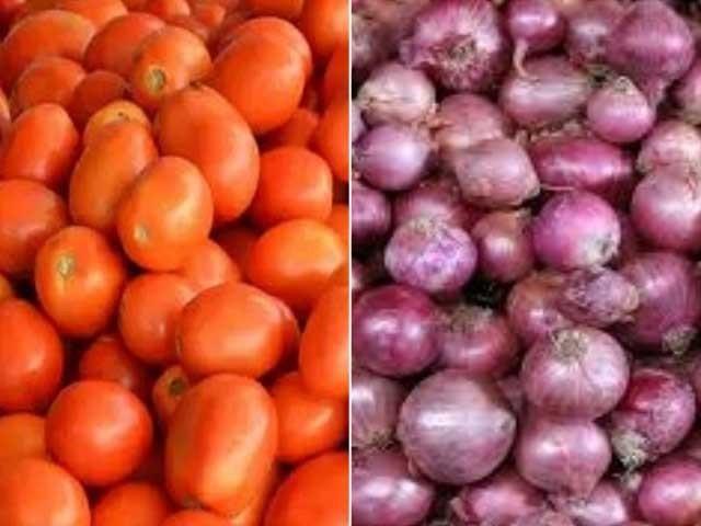 ایران سے ٹماٹر اور پیاز درآمد کرنے کی ایک ماہ کے لیے اجازت دی گئی ہے۔ فوٹو:فائل