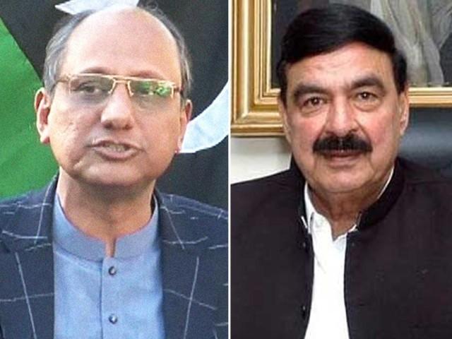 شیخ رشید نے ایک پریس کانفرنس میں کہا تھا کہ جلسوں میں دہشت گردی کا خدشہ ہے، وزیر تعلیم سندھ ۔ فوٹو : فائل