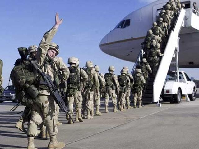 افغانستان میں اب بھی 4 ہزار 500 امریکی فوجی موجود ہیں ، فوٹو: فائل