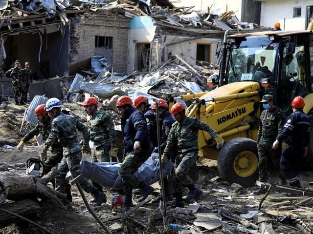 زخمیوں میں سے 9 کی حالت نازک ہونے کے باعث ہلاکتوں میں اضافے کا خدشہ ہے، فوٹو : ٹویٹر