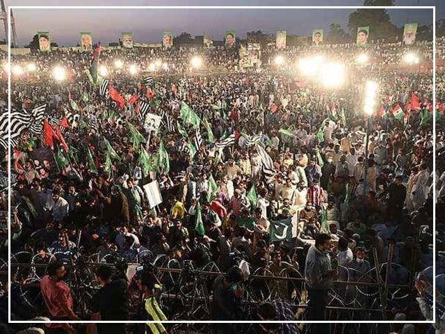سیاسی جماعتوں نے تیاریاں مکمل کرلیں، باغ جناح کے پنڈال میں 50 ہزار کرسیاں لگادی گئیں، ملک بھر سے قافلے پہنچنا شروع ہوگئے (فوٹو : فائل)