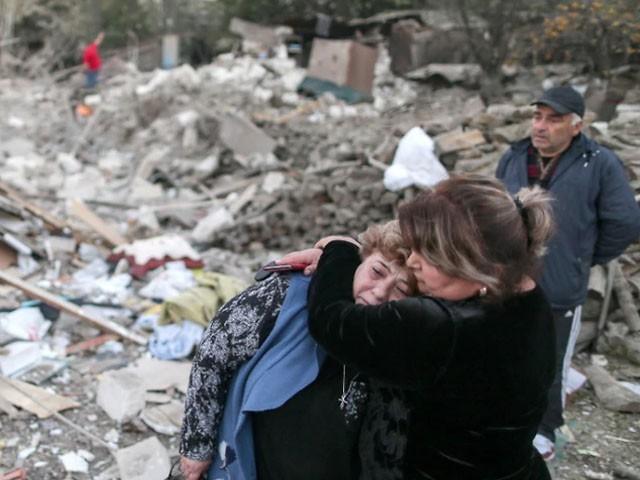 تین ہفتوں سے جاری جھڑپوں میں دوسری بار جنگ بندی کا اعلان کیا گیا ہے، فوٹو : فائل