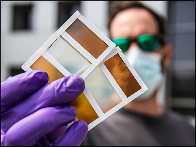 ذہین کھڑکی کا دوسرا پروٹوٹائپ ہے جو پہلے پروٹوٹائپ سے پہلے ہی بہتر تھا اور مؤثر تھا۔  (فوٹو: این آر ای ایل)