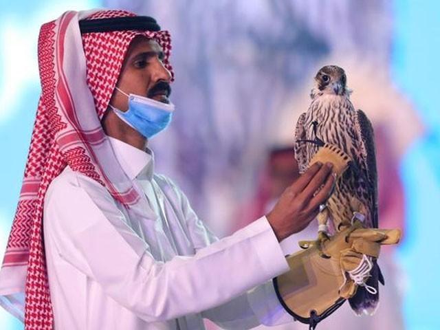 سعودی عرب میں عقاب کو خاص اہمیت حاصل ہے ، فوٹو: رائٹرز