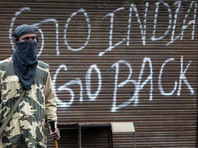27 اکتوبر 1947 کو بھارت نے کشمیر پر غاصبانہ قبضہ کرلیا تھا، فوٹو : فئل