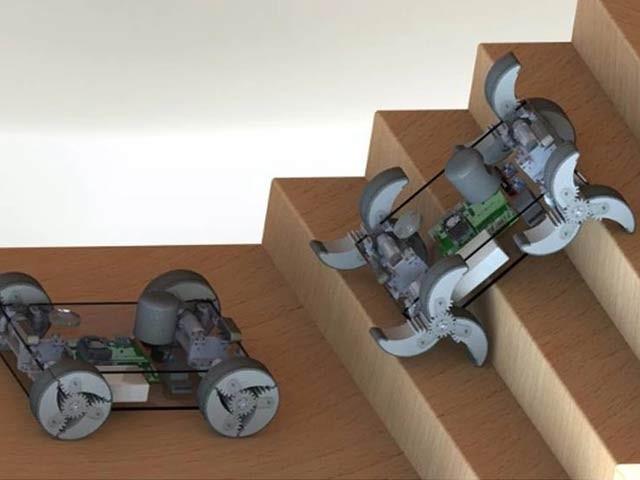 ڈارپا کے تعاون سے ٹیکسس اور اینڈ ایم یونیورسٹی کے سائنسدانوں نے روبوٹ کی تیاری کا کام شروع کردیا۔  فوٹو: ٹیکساس اینڈ ایم یونیورسٹی