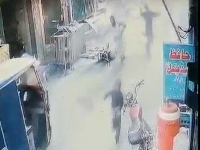گذشتہ روز ہونے والے دھماکے میں تین افراد زخمی ہوئے تھے(ٖفوٹو، اسکرین شاٹ)