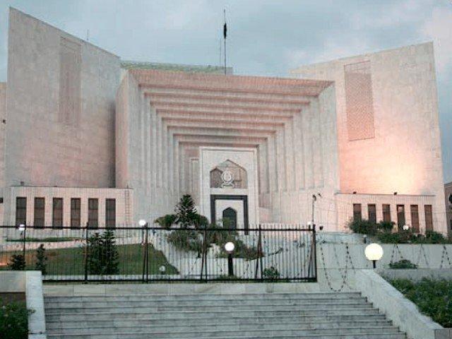 حکومت کو مزید رقم وصول کرنے سے روک چکے ہیں، جسٹس مشیر عالم، جی آئی ڈی سی کیس میں نظرثانی درخواستوں پر سماعت۔ فوٹو:فائل