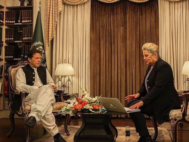 پاکستان پر افغانستان میں طالبان کو استعمال کرنے کا الزام غلط ہے، فلسطین کی آزادی تک اسرائیل کو تسلیم نہیں کریں گے (فوٹو : اسپیگل)