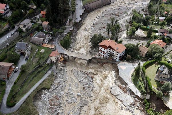 France Italy flood 3