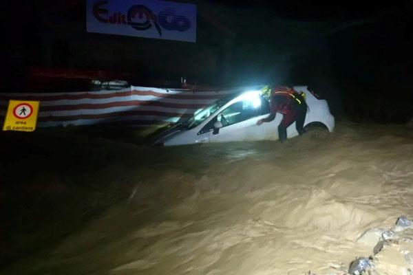 France Italy flood 4