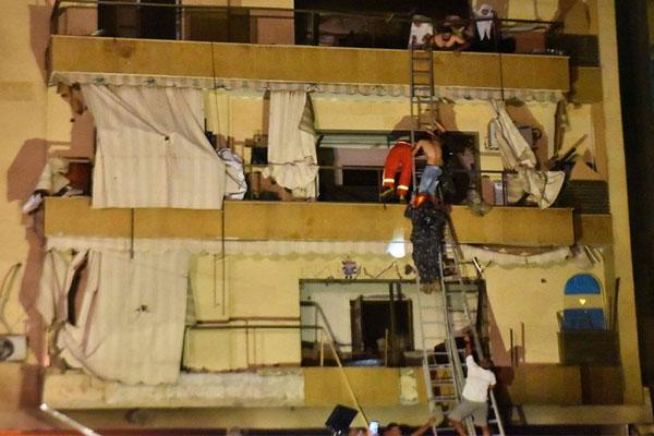 بیروت 1 میں ایندھن کے ٹینک دھماکے