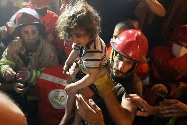 بیروت 3 میں ایندھن کے ٹینک دھماکے