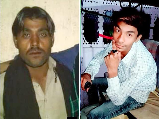 دھماکے میں جاں بحق یاسر اور عامر کی تصاویر